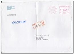 Aangetekende Brief 1986, Van 's-Gravenhage ( Reserve ) Naar Boxmeer - Period 1980-... (Beatrix)