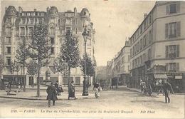 CPA Paris La Rue Du Cherche-Midi Vue Prise Du Boulevard Raspail - Arrondissement: 06