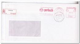 Aangetekende Brief 1986, Tegelen, Gerlach Int. Expediteurs - Period 1980-... (Beatrix)