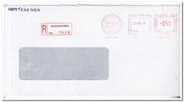 Aangetekende Brief 1986, Waddinxveen - Period 1980-... (Beatrix)