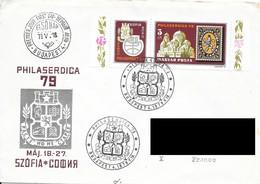 FDC : Philaserdica 1979, Sofia.  + PA 390 Au Dos. (Voir Commentaires) - FDC