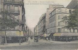 CPA Paris Rue Du Cherche-Midi Angle Du Boulevards Montparnasse - Arrondissement: 06