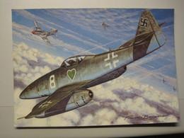 Messerschmitt Me 262    Dessin Francis Bergèse - 1939-1945: 2ème Guerre