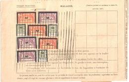 AGEN Assurances Sociales Fiscaux Socio-postaux Type 1932 Merson 40F Vermillion 5F Rouge 50C Vert Yv 35 43 49 - Fiscali