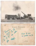 (Régiments) 196, Carte Photo Loche à Mourmelon Le Grand, 372 RALVF Régiment D'Artillerie Lourde Sur Voie Ferrée, 240 Bat - Reggimenti