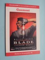 BLADE > Gaumont Disney Village 77705 Marne-la-Vallée ( Programme ) 1998 ( Voir Photo > 2 Scan ) ! - Publicidad