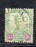 XP5033 - JOHORE MALAYSIA 1896 , Yvert N. 23  Usato (2380A) - Johore