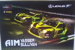 AIM Vasser Sullivan - Handtekening