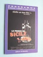 LE PRINCE DE SICILE > Pathé NICE ( Programme ) 1998 ( Voir Photo > 2 Scan ) ! - Publicidad