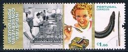 Portugal -Patrimoine : Industrie De La Conserve (anguille) 4197 (année 2016) Oblit. - 1910-... République