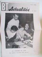 CAEN   Jouet Presse à Imprimer Les Journaux   -  Coupure De Presse De 1962 - Jouets Anciens
