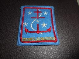 Patch Marine - Troupes Du Pacifique - Ecussons Tissu