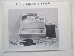 """Jouet Presse à Imprimer  """"BOITE IMPRIMERIE  """"CEL""""    -  Coupure De Presse De 1961 - Jouets Anciens"""