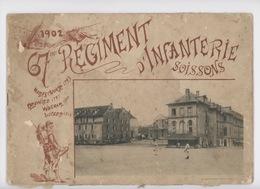 Soissons 1902 : 67è Régiment D'Infanterie , Album 12 Photographies + 2 (28X20) Militaria Caserne - Soissons