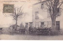 63-BEAUZIRE- LA MAIRIE-ANIMÉE - France