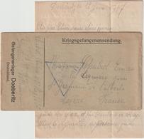 Ar RC, 115 :  LFM Prisonnier De Guerre Français  Doeberitz 12/6/1917 - Guerra Del 1914-18
