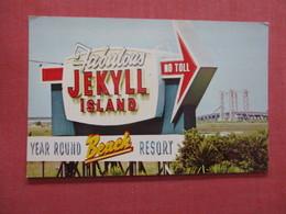 Invitation To Jekyll Island    Lanier Bridge - Georgia > >   Ref 3895 - Vereinigte Staaten