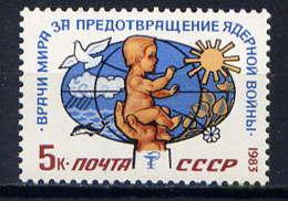 RUSSIE - 5056** - MEDECINE AU SERVICE DE LA PAIX - 1923-1991 URSS