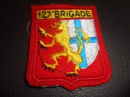 Patch Militaire - 127 Eme Brigade - Ecussons Tissu