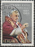 PIA - ITALIA - 1981 : Centenario Della Nascita Di S.S. Papa Giovanni XXIII°  - (SAS  1581) - Papi