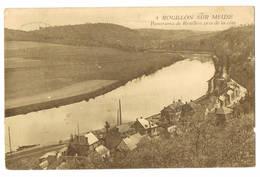 Rouillon Sur Meuse: Panorama De Rouillon Pris De La Côte ( 2 Scans) - België