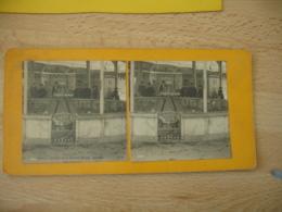 Lot De 4 Photo Stereoscopique Stereo Vichy - Stereoscopic
