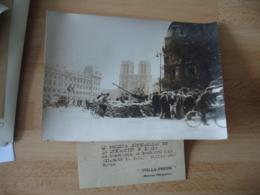 Guerre 39.45 Photo De Presse Stella Presse D C A Veille Sur Paris - Oorlog, Militair