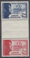 FRANCE 1942 N° 565 à 566 * - France