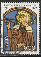 PIA - ITALIA - 1981 :6°  Centenario Della Nascita Di Santa Rita Da Cascia  - (SAS  1553) - Cristianesimo