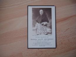 Cure Saint Germain En Laye Chanoine Versailles Et Guadeloure Avis Faire Part Deces  Holly Card Image Pieuse - Décès