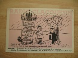 Peynet Illustrateur Carte Radio Clocquesin  Jeudi Dimanche - Peynet