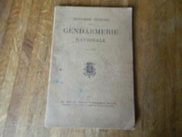 GENDARMERIE:ANNUAIRE OFFICIEL DE LA GENDARMERIE NATIONALE POUR 1930-NOM DES OFFICIERS ET SOUS OFFICIERS D'ELITE-BRIGADE - Police