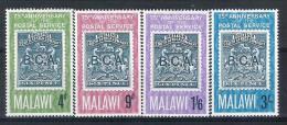 Malawi N° YVERT  52/55 NEUF ** - Malawi (1964-...)