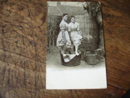 1904 Ecosse A Scotch Washing Femme Women - Autres