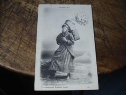 Femme Panier Woman Cullercoats Fisher Lass - Inghilterra