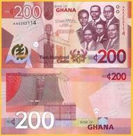 Ghana 200 Cedis P-new 2019 UNC Banknote - Ghana
