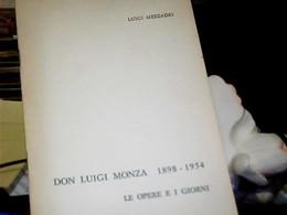 LIBRETTO LECCO CISLAGO-DON LUIGI MONZA OPERE E I GIORNI \979  HK4849 - Livres, BD, Revues