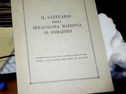 LIBRETTO VARESE - COMABBIO - MIRACOLOSA MADONNA  SANTUARIO 1979  HK4850 - Livres, BD, Revues