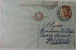 RACALMUTO (AGRIGENTO) - CARTOLINA POSTALE PRESTITO DEL LITTORIO 1926 - Agrigento
