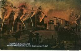 Bruxelles Incendie Expo 1910 - Expositions Universelles