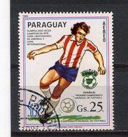 PARAGUAY - Y&T Poste Aérienne N° 856° - Coupe Du Monde De Football - Espana 82 - Paraguay