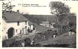 Croupet Du Vieux Moulin à Sart (animée) - Spa