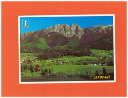 2003 POLSKA ZAKOPANE POSTCARD WITH 1 STAMP TO GERMANY - 1944-.... Repubblica