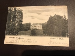 Moxhe ,chateau De Moxhe ,environs De Hannut ( Hannuit ) - Circulé 1915 - Hannut