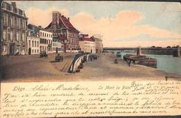 Liège - Le Mont De Piété (animée Colorisée, E V Oldtimer 1901) - Liège