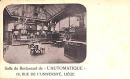 Liège - Salle Du Restaurant L'Automatique (Maison Spée-Zelis, 1902) - Liege