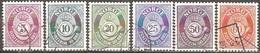 Norvège - 1962 à 1978 - Cor De Poste - YT 435, 436, 438, 632, 715 Et 716 Oblitérés - Norvegia