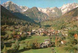 Val D' Aosta - Pré St. Didier - Panorama - Fg Vg - Italia