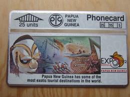 L&Gyr Phoencard, 203A  Seville EXPO 1992, 25 Units,mint Tiny Oxide - Papouasie-Nouvelle-Guinée