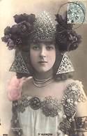 Reutlinger - D'Alençon - Femme Woman Art Nouveau Colorisée (SW 0451) - Femmes